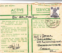 Iraq / Forces Airmail / G.B. / India Military Mail / Censorship - Iraq