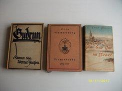 3 Livres En Allemand - Bücher, Zeitschriften, Comics