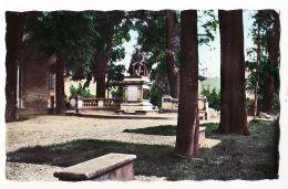 X39015 ARBOIS -39 Jura- Le Monument PASTEUR Et La Promenade La Foule CPSM 1950s - Photo PROTET 5005 - Arbois