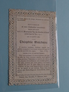 1898 - Souvenir De Mon Ordination Sac. De SGM Van Den Branden De REETH Archevèque De TYR - MALCHAIRE Théophile ! - Godsdienst & Esoterisme