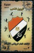 XD0819 Egypt 2017 National Flag Military Sports 1V MNH - Sellos
