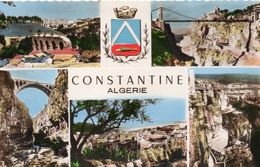 Algérie Constantine Belle Multi-vues De La Ville - Constantine