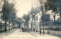 94 - Parc De Saint Maur - La Rue De La République - Saint Maur Des Fosses
