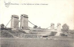 70  HAUTE SAONE - JUSSEY Le Pont Suspendu Sur La Saône à Cendrecourt - Altri Comuni