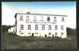 AK Gersfeld, Wasserkuppe, Hotel Deutscher Flieger, Bes. Georg Haid - Sin Clasificación