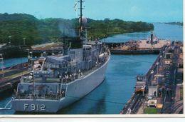 Panama Canal De Panama Animée Ecluse De Gatun Bateaux Cargos - Panama