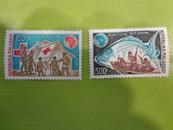 MADAGASCAR Scoutisme N°135-136 ** - Scoutismo
