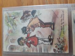 Carte Postale Tout Va Très Bien Madame La Marquise !... Germaine Bouret - Niños
