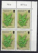 Guernsey 1975  Ferns  3.1/2p (**) Mi.114 - Guernsey