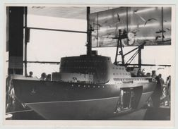 Ship Boat Model To Identify Huge Sized Ship Exhibition 18X13 Cm N1121 Photo Photography PHOTOGRAPH - Places