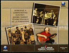 XD0840 Paraguay 2017 Musician Guitarist M. MNH - Dance