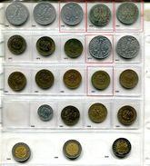 Lot De 22 Pièces De 5 Zlotys Différentes - Pologne