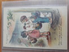Carte Postale Vous N'avez Pas Plus Petit, C'est Pour Mon Chapeau... Germaine Bouret - Niños