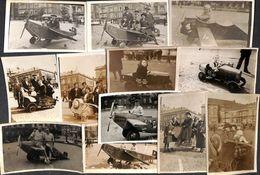 Liège - Place St Lambert - Lot Rare 31 Cartes Photos Animée Souvenir Lion Avion Automobile Tramway Pigeons 1928-1950... - Liege
