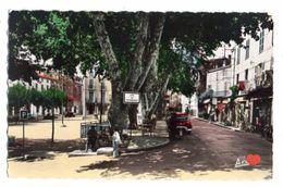 18801-LE-83-LE LUC-Place De La Liberté----------animée-voitures-commerces - Le Luc