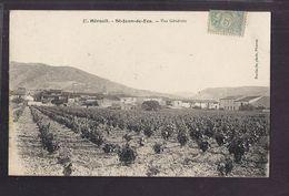 CPA 34 - SAINT-JEAN-DE-FOS - Vue Générale - TB PLAN D'ensemble Du Village Avec Champ De Vignes Au 1er Plan 1905 - France