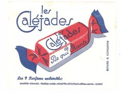 Buvard Bonbons Les Galéjades De La Pie Qui Chante - B