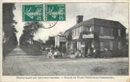 LE NEUBOURG - Restaurant Des Quatre-Chemins, Route De Paris-Trouville-Cherbourg.. - Le Neubourg