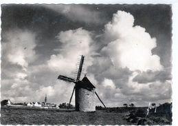 Cpm De Cléden-Cap-Sizunn - Le Vieux Moulin Et Le Village - - Cléden-Cap-Sizun