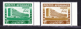 AFGHANISTAN N°  481 & 482 ** MNH Neufs Sans Charnière, TB (D2405) UNESCO - Afghanistan
