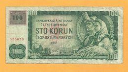 TCHECOSLOVAQUIE 100 Korun (1961) - Tchécoslovaquie