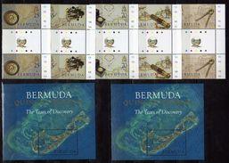 Bermuda 2005.500th Ann. Of Discovery Of Bermuda By Juan De Bermudez (Spanish Navigator) 2 Stamps + Cinderela + 2 S/S.MNH - Bermudes