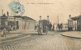 PARIS - La Porte De Montreuil. - District 20