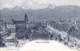 Bulle Et Le Moléson 1907 (001991) - FR Fribourg