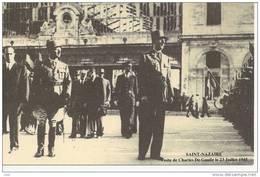 44   ST  NAZAIRE     40 Ieme ANNIVERSAIRE  POCHE ST NAZAIRE   LE  GENERAL  DE  GAULLE    MAI 1945  MAI 1985 - Saint Nazaire