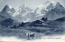 Eiger, Mönch Und Jungfrau (001994) - BE Berne