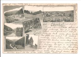 Oberhof. Gruss Aus. 7 Bilder. 1898 - Oberhof