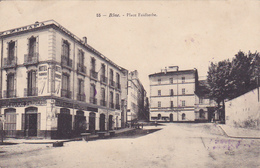 Cpa -afr-algerie- Annaba /bone--place Faidherbe-n°55 - Annaba (Bône)