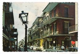 18813-LE-ETATS UNIS--FRENCH QUARTER-New Orleans,Louisiana-Lace Work Balconies On St. Street In The French Quarter - Etats-Unis
