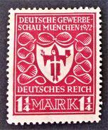 EXPO INDUSTRIELLE DE MUNICH 1922 - NEUF * - YT 214 - MI 199 - Deutschland