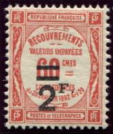 Lot N°4435 France Taxe N°54 Neuf ** LUXE - Taxes