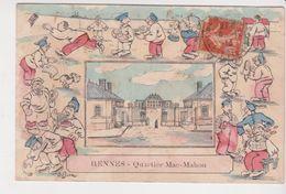 26348 -Rennes Quartier Mac-mahon -caserne Humour Dessin Militaire Correspondance Briand De Roche Concoret Mauron- - Rennes