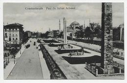 Constantinople. - Parc Du Sultan Achmed - Turkey