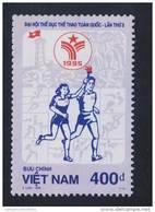 Vietnam Viet Nam MNH Perf Stamp 1995 : 3rd National Games / Table Tennis / Volleyball / Football (Ms716) - Vietnam