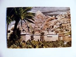 Post Card From Morocco Maroc Mountains Rocks - Marokko (1956-...)