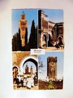 Post Card From Morocco Maroc To GB - Marokko (1956-...)