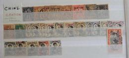 ### Vente Spéciale CHINE Départ 1 Euro ! Lot 9 -  Collection De Timbres De CHINE CHINA Colonie France CANTON - Otros