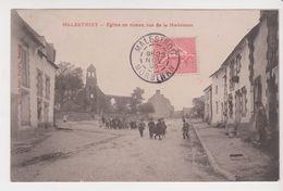 26353 Malestroit Eglise  Ruines Rue Madeleine -sans Ed Encre Rouge - Enfant - Malestroit
