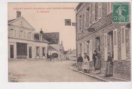 26354 Mauny SaintT MAURICE AUX RICHES HOMMES (89) Carrefour -ed Coffinet -Hotel Renaissance Tabac - France