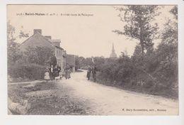 26357 Saint Malon Arrivee Route Paimpont -3058 Mary Rousseliere -personnage - Autres Communes