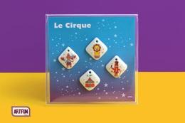Coffret De 4 Fèves-Bijoux Le Cirque (2018) - Animals