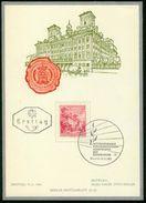ET Österreich ETB 1962 - MiNr 1120 - Bauwerke Schloss Esterházy, Eisenstadt - FDC