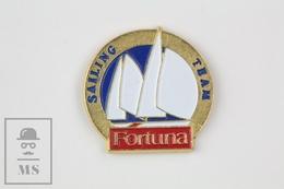 Fortuna Sailing Team  Advertising Pin Badge - Barcos