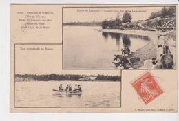 26358 Environs Saint Méen - Etang Du Loscouët Sur Meu -ed Mignot 2009 -Lavandière Promenade Bateau - Autres Communes
