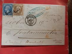 07.01.17_LSC De Besancon Pour La Suisse A Voir!! - Poststempel (Briefe)