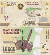 Madagascar 2017 - 10000 Ariary - Pick NEW UNC - Madagascar